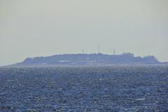 対岸の初島