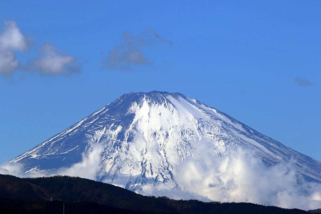 今年初めての富士山