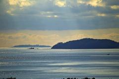 真鶴半島三ツ石海岸と初島