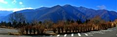 パノラマ三峯神社前風景