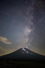 富士夜景(夏)