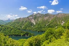 田子倉湖の新緑Ⅱ