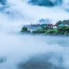 霧の大志集落(動)