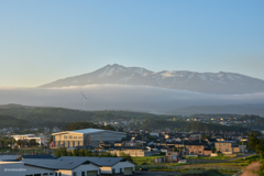 おはよう、鳥海山