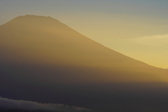 日暮れ富士