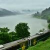 霧峡へ向かう