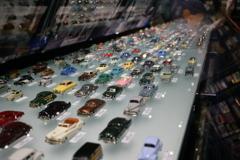 トヨタ博物館のミニカーたち