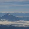 羽田 離陸後10分の富士山