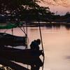 ボート & 夕景