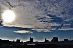 珍しい太陽