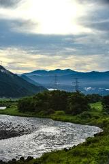 白山と九頭竜川