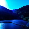 ダムの夜明け