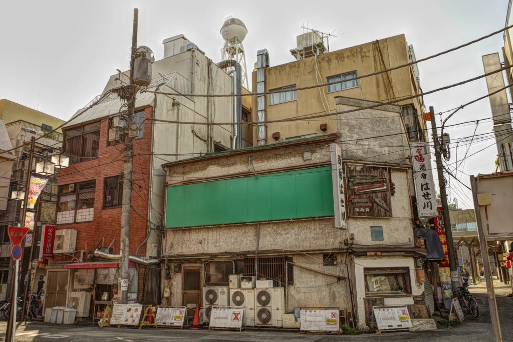 西川口駅前ガチャついてる区画