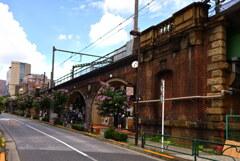 旧昌平橋駅の高架橋