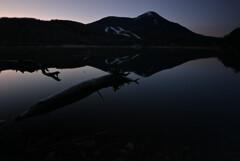 女神湖(蓼科)の朝