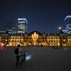 東京駅と苺月2