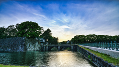 皇居(二重橋)