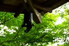 高山寺石水院の風鐸