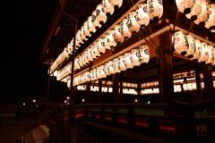 八坂神社(舞殿)