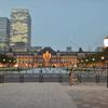 東京駅と丸の内駅前広場2