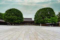明治神宮外拝殿2