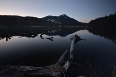 女神湖(蓼科)の朝2