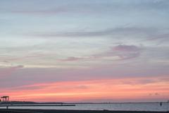 夜明け前の城南島海浜公園2