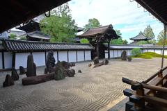 侘び寂び(東福寺の本坊庭園)