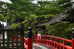 瑞巌寺五大堂への透橋