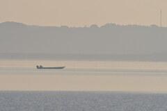 汽水湖の朝2020秋