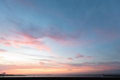夜明け前の城南島海浜公園4