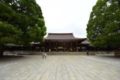 明治神宮外拝殿