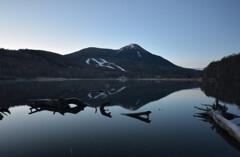 女神湖(蓼科)の朝3