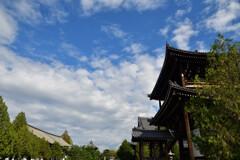 東福寺の空