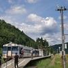 田舎の駅(只見線)