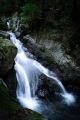 八釜渓谷の滝