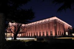 美術館 夜景