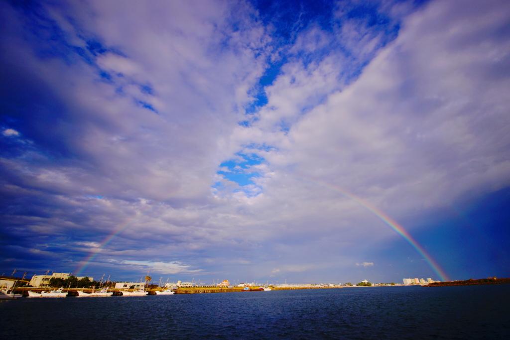 ♬No rain,no rainbow
