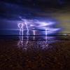 Lightning Over Godwin Beach
