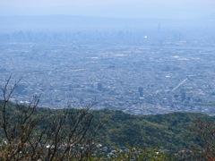 六甲山最高峰からの眺め