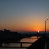 芦屋大橋日の出