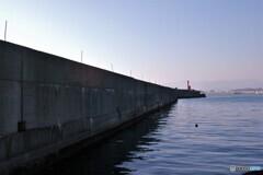 港の景色 ①