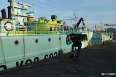 港の船② 加山さん