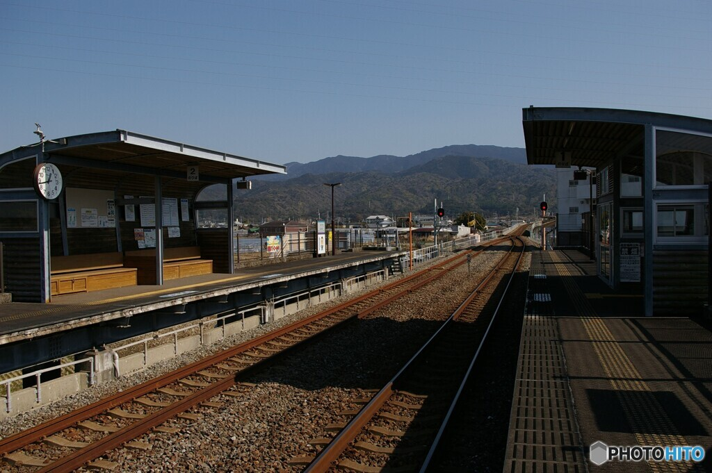田野駅② ホーム