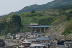 五能線-小入川橋梁-
