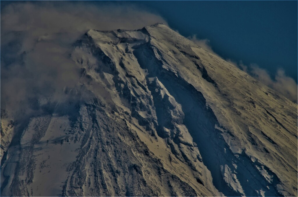 毛無山から富士山