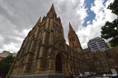 オーストラリア、ビクトリア州、ラッセル通りにある旧裁判所