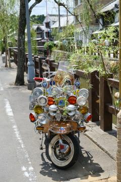 不思議なバイク