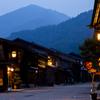 夕暮れの奈良井宿