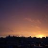 雨後の夕焼け